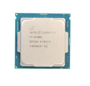Intel Core i7-8700K 6 Core 3.70GHZ 12MB 95W SR3QR CPU Processor