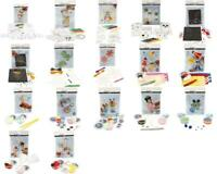 Mini Creative Children Kit Assorted Designs Stacking Moulding Christmas Filler