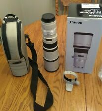 Canon EF 400mm f/5.6 L USM Lens *** Mint Condition with factory warranty left***