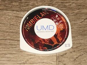 Zombie Land Movie UMD Playstation Portable PSP Authentic