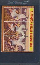 1962 Topps #318 Mickey Mantle In Action VG/EX *1121