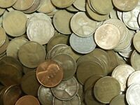 Large Lincoln Cent Wheat Cent Private Hoard 1000 count mixed bags