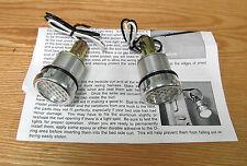 1940 - 1966 CHEVY TRUCK BEDSIDE CURL HOLE WHITE LED LIGHTS  Custom Backup lights
