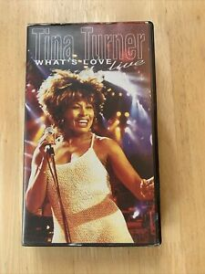 Tina Turner What's Love - Live (VHS 1994).