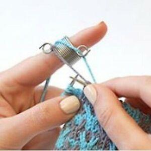 addi Knitting Thimble Finger Ring