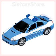 """Carrera GO 61020 Subaru Impreza WRX """"Polizia Italia 113"""" (mit Licht) 1:43 Auto"""
