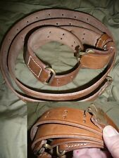 Bretelle GARAND M1 / SPRINGFIELD 1903 P17 WW2 USA JEEP MILITARIA TIR TAR laiton