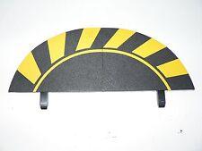 Carrera Abschluss Randstreifen Endstücke Digital 124 / 132 schwarz-gelb 20598