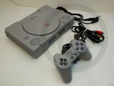 !!! PLAYSTATION PS1 Konsole + Controller, gebraucht aber GUT (3) !!!