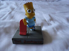 Bart Simpson 1997 figure on plinth