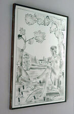 Diana the Hunter _ italian mirror 30s 40s glass brusotti fontana arte