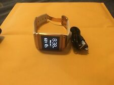 Samsung Galaxy Gear Watch SM-V700 Cream White w/ Steel Frame & Buckle, Camera.