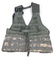 MOLLE II FLC Fighting Load Carrier Vest ACU Digital Tactical LBV Military EXC