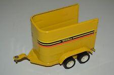Nice Vintage Yellow 1970s TONKA Metal Tin Horse Trailer for Camping Van Rare