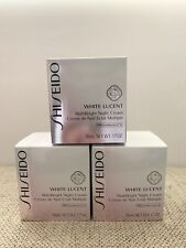 Shiseido WHITE LUCENT MultiBright Night Cream Full Size 50ml / 1.7oz. $92 Retail