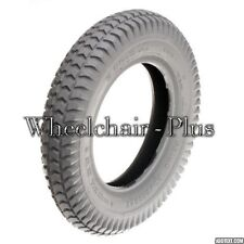 """3.00-4 (10""""x3"""", 260X85) Primo foam-filled Tire 50 mm Bead Width C248 Tread"""