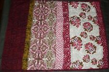The Company Store One Patchwork Quilt Hot Pink/Purple/Green Pillow Sham Standard