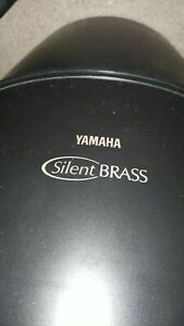 YAMAHA PM1 SILENT BRASS TUBA MUTE W/ST9 Personal Studio w/ FITTED CASE TESTED