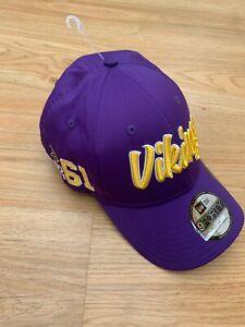 BRAND NEW Minnesota Vikings Baseball Cap Hat New Era 9Forty Adjustable NFL 99p