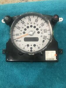 2002-08 Mini Cooper Speedometer Instrument Cluster Dash Panel Unknown Miles C182