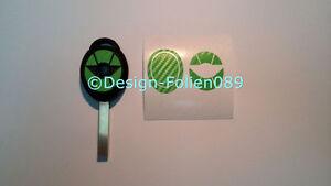 Carbon Grün Folie Dekor Schlüssel Key Cooper JCW S Mini R53 John Works