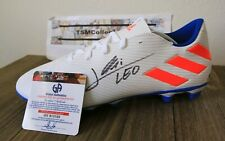 LIONEL LEO MESSI SIGNED AUTOGRAPHED SOCCER CLEAT, BOOT with COA FC Barcelona