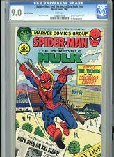 Spider-Man and Incredible Hulk Colorado Caper Super RARE CGC 9.0 PLEASE READ