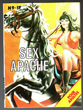 CARRE ROUGE n°9 # SEX APACHE # 1980 BELLE FRANCE