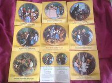 Wizard of Oz 50th Anniversary (8) plate collection-1989, Thomas Blackshear