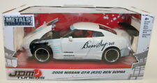 Jada Escala 1/24 coche 98569-JDM sintonizadores 2009 Nissan GT-R R35 Ben sopra-Blanco