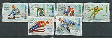 Briefmarken Laos 1983 Olympia Sarajevo Mi.Nr.661-666