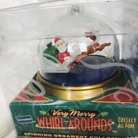 1999 Blockbuster Very Merry Whirl-Arounds Spinning Ornament Rudolf the Red Nosed