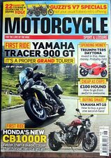 MOTORCYCLE SPORT and LEISURE : June 2018
