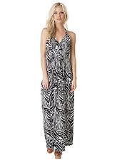 -30%, Maxikleid, langes Kleid Gr. 48 sexy Sommerkleid von Yest schwarz weiß
