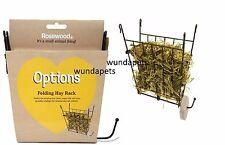 Rosewood Boredom Breaker pieghevole Wire Rack Fieno Per Coniglio Cavia GABBIA Hutch