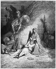 Gustave Dore gigantón Pantagruel 035 A4 Foto impresión