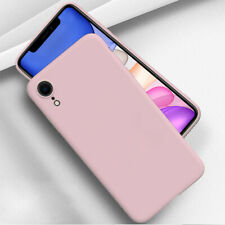 Liquid Silicone Shockproof Case For Apple iPhone 8 7 Plus X XR XS Max Back Cover