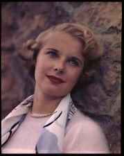 Mona Freeman Beautiful Vintage 1940's Glamour Photo Original 5x4 Transparency