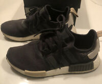 Adidas NMD R1 W Black Addidas Boost  Size 9.5 Women NMD_R1 Kanye West Yeezy