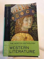 The Norton Anthology Western Literature 8th Ed. Vol 1