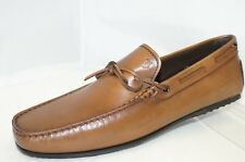 New Tod's Men's Brown Shoes Loafers Size 7 Drivers Leather