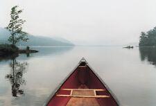 13x19 LAKE PHOTO ART PRINT - Pointing the Way by Orah Moore Senic Canoe Poster