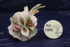 Bouquet bomboniera matrimonio Capodimonte Porcellana