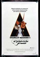 A CLOCKWORK ORANGE * CineMasterpieces ORIGINAL MOVIE POSTER KUBRICK LINEN 1971