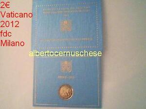 2 euro VATICAN 2012 coffret VII Journée Mondiale Famille Vaticano Vatikan Milan