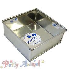 """INVICTA 8 """"pollice quadrato di alta qualità Professional Cake TIN Pentole / PIATTI da forno BARATTOLI"""