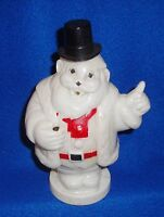 Vintage Plastic Light Up Santa Figure