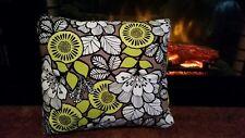 Vera Bradley Toss Pillow Handmade Citron Fabric Decor Travel