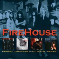 FIREHOUSE - 3/GOOD ACOUSTICS/HOLD YOUR FIRE/FIREHOUSE  3 CD NEW+