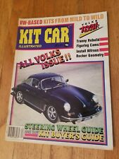 Kit Car Illustrated April 1986 All Volkswagen Issue vw
